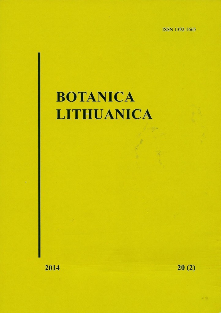 Article about Aukštumala raised bog in scientific journal